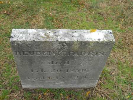FARRIS, REUBEN - Barnstable County, Massachusetts | REUBEN FARRIS - Massachusetts Gravestone Photos