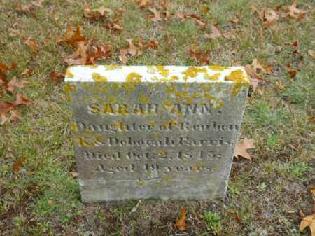FARRIS, SARAH ANN - Barnstable County, Massachusetts | SARAH ANN FARRIS - Massachusetts Gravestone Photos