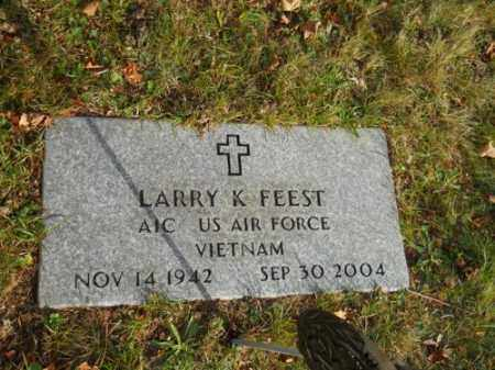 FEEST, LARRY K - Barnstable County, Massachusetts | LARRY K FEEST - Massachusetts Gravestone Photos
