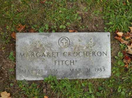 CROCHERON FITCH, MARGARET - Barnstable County, Massachusetts | MARGARET CROCHERON FITCH - Massachusetts Gravestone Photos