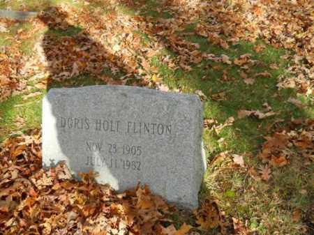 FLINTON, DORIS HOLT - Barnstable County, Massachusetts | DORIS HOLT FLINTON - Massachusetts Gravestone Photos