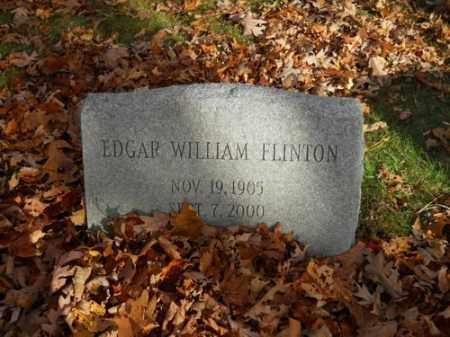 FLINTON, EDGAR WILLIAM - Barnstable County, Massachusetts | EDGAR WILLIAM FLINTON - Massachusetts Gravestone Photos