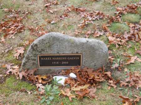 GALVIN, MAREE HARKINS - Barnstable County, Massachusetts | MAREE HARKINS GALVIN - Massachusetts Gravestone Photos