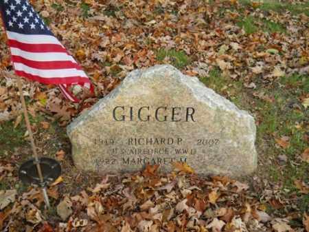 GIGGER, RICHARD P - Barnstable County, Massachusetts | RICHARD P GIGGER - Massachusetts Gravestone Photos