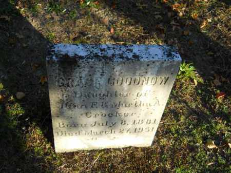 GOODNOW, GRACE - Barnstable County, Massachusetts | GRACE GOODNOW - Massachusetts Gravestone Photos