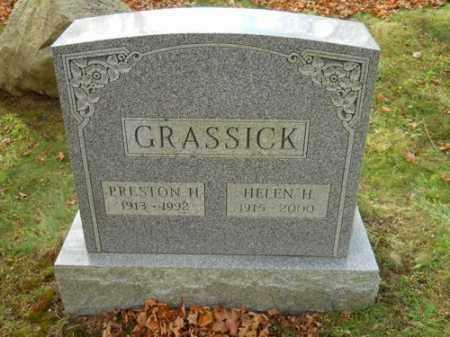 GRASSICK, HELEN H - Barnstable County, Massachusetts   HELEN H GRASSICK - Massachusetts Gravestone Photos