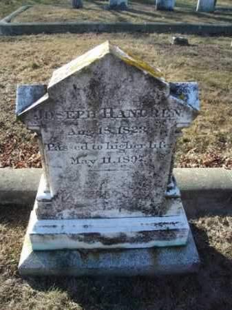 HANDREN, JOSEPH - Barnstable County, Massachusetts   JOSEPH HANDREN - Massachusetts Gravestone Photos
