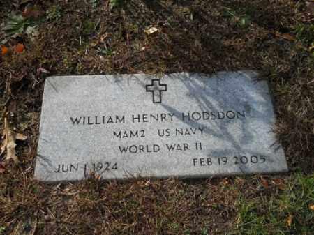 HODSDON (WWII), WILLIAM HENRY - Barnstable County, Massachusetts   WILLIAM HENRY HODSDON (WWII) - Massachusetts Gravestone Photos