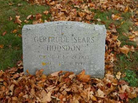 HODSON, GERTRUDE - Barnstable County, Massachusetts | GERTRUDE HODSON - Massachusetts Gravestone Photos