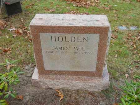 HOLDEN, JAMES PAUL - Barnstable County, Massachusetts | JAMES PAUL HOLDEN - Massachusetts Gravestone Photos