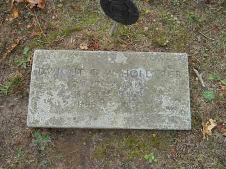 HOLLISTER, DWIGHT G W - Barnstable County, Massachusetts | DWIGHT G W HOLLISTER - Massachusetts Gravestone Photos