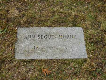 HORNE, ANN SEGUIN - Barnstable County, Massachusetts   ANN SEGUIN HORNE - Massachusetts Gravestone Photos