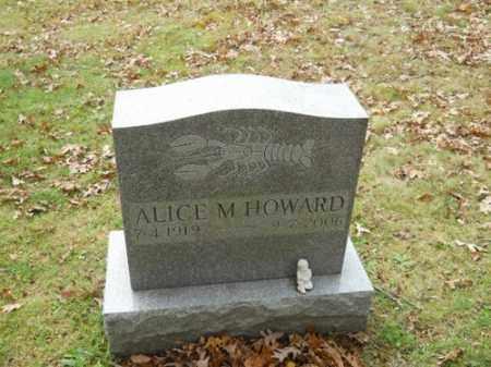 HOWARD, ALICE M - Barnstable County, Massachusetts | ALICE M HOWARD - Massachusetts Gravestone Photos