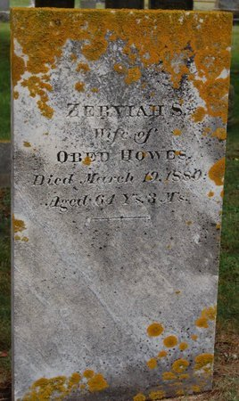 SEARS, ZERVIAH - Barnstable County, Massachusetts | ZERVIAH SEARS - Massachusetts Gravestone Photos