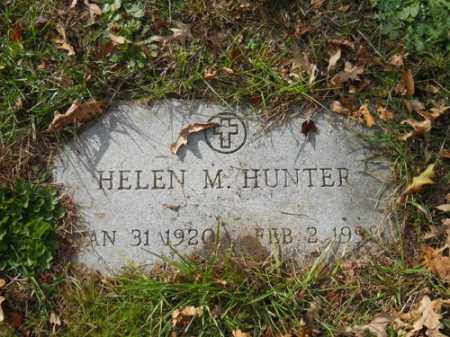 HUNTER, HELEN M - Barnstable County, Massachusetts | HELEN M HUNTER - Massachusetts Gravestone Photos