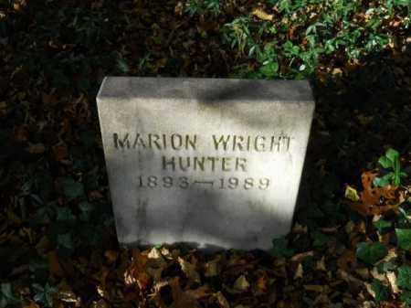 HUNTER, MARION WRIGHT - Barnstable County, Massachusetts   MARION WRIGHT HUNTER - Massachusetts Gravestone Photos