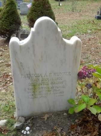 HUNTER, PATRICIA A F - Barnstable County, Massachusetts | PATRICIA A F HUNTER - Massachusetts Gravestone Photos