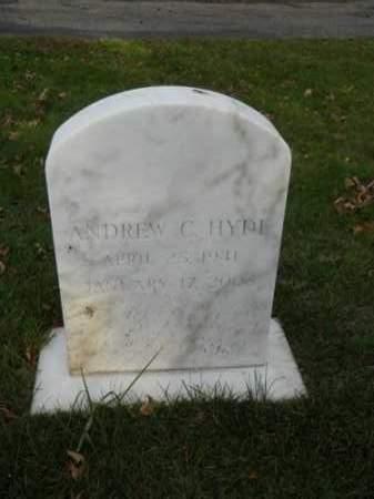 HYDE, ANDREW C - Barnstable County, Massachusetts | ANDREW C HYDE - Massachusetts Gravestone Photos