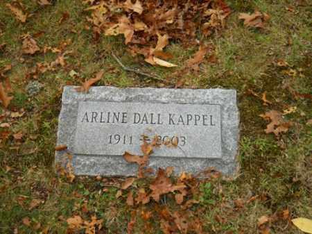 KAPPEL, ARLINE DALL - Barnstable County, Massachusetts | ARLINE DALL KAPPEL - Massachusetts Gravestone Photos