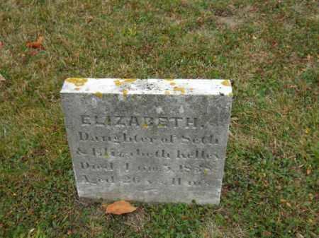 KELLEY, ELIZABETH - Barnstable County, Massachusetts   ELIZABETH KELLEY - Massachusetts Gravestone Photos