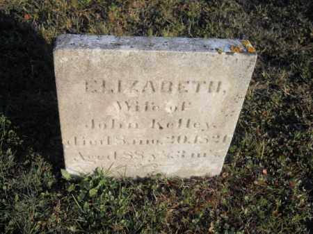 KELLEY, ELIZABETH - Barnstable County, Massachusetts | ELIZABETH KELLEY - Massachusetts Gravestone Photos