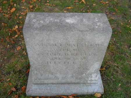 KELLEY, SARAH E - Barnstable County, Massachusetts | SARAH E KELLEY - Massachusetts Gravestone Photos