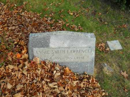 LAWRENCE, ANNIE SMITH - Barnstable County, Massachusetts | ANNIE SMITH LAWRENCE - Massachusetts Gravestone Photos