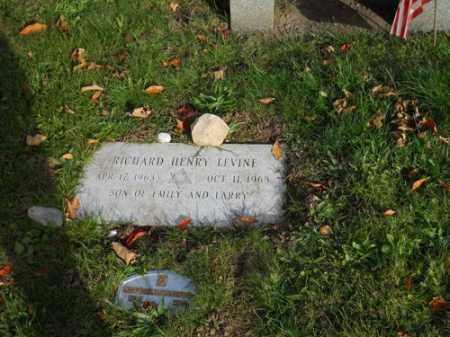 LEVINE, RICHARD HENRY - Barnstable County, Massachusetts | RICHARD HENRY LEVINE - Massachusetts Gravestone Photos