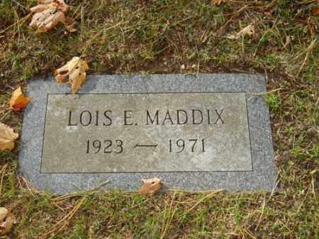 MADDIX, LOIS E - Barnstable County, Massachusetts | LOIS E MADDIX - Massachusetts Gravestone Photos