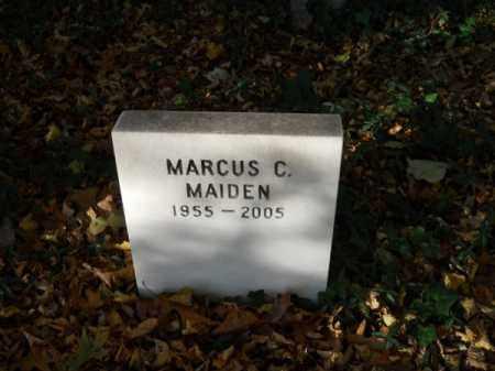 MAIDEN, MARCUS C - Barnstable County, Massachusetts | MARCUS C MAIDEN - Massachusetts Gravestone Photos
