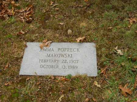 MAKOWSKI, EMMA POPPECK - Barnstable County, Massachusetts   EMMA POPPECK MAKOWSKI - Massachusetts Gravestone Photos