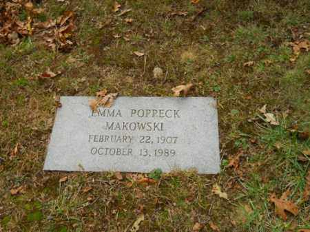 MAKOWSKI, EMMA POPPECK - Barnstable County, Massachusetts | EMMA POPPECK MAKOWSKI - Massachusetts Gravestone Photos