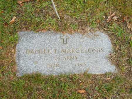 MARCELONIS, DANIEL F - Barnstable County, Massachusetts | DANIEL F MARCELONIS - Massachusetts Gravestone Photos