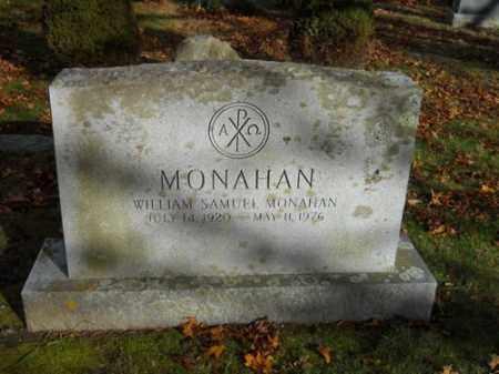 MONAHAN, WILLIAM SAMUEL - Barnstable County, Massachusetts | WILLIAM SAMUEL MONAHAN - Massachusetts Gravestone Photos