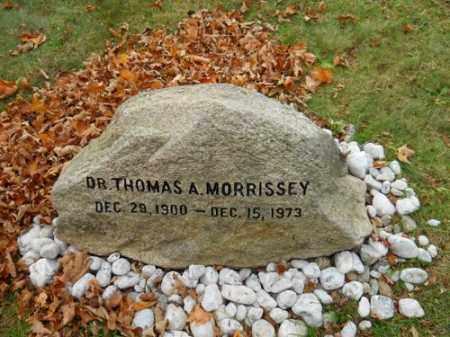 MORRISSEY, THOMAS A - Barnstable County, Massachusetts | THOMAS A MORRISSEY - Massachusetts Gravestone Photos