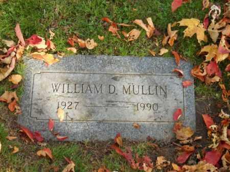 MULLIN, WILLIAM D - Barnstable County, Massachusetts   WILLIAM D MULLIN - Massachusetts Gravestone Photos