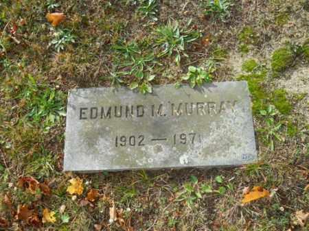 MURRAY, EDMUND M - Barnstable County, Massachusetts | EDMUND M MURRAY - Massachusetts Gravestone Photos