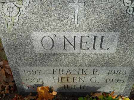 O'NEIL, FRANK P - Barnstable County, Massachusetts | FRANK P O'NEIL - Massachusetts Gravestone Photos