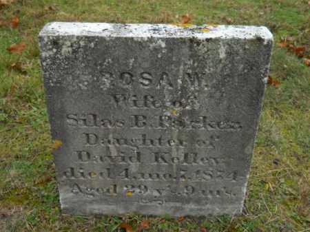 KELLEY, ROSA W - Barnstable County, Massachusetts | ROSA W KELLEY - Massachusetts Gravestone Photos