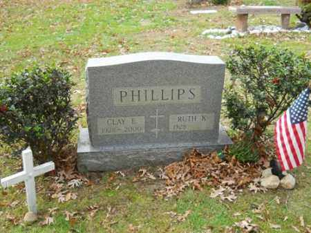 PHILLIPS, RUTH K - Barnstable County, Massachusetts | RUTH K PHILLIPS - Massachusetts Gravestone Photos
