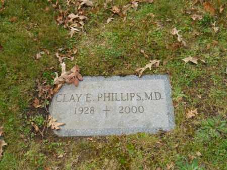 PHILLIPS, CLAY E - Barnstable County, Massachusetts   CLAY E PHILLIPS - Massachusetts Gravestone Photos