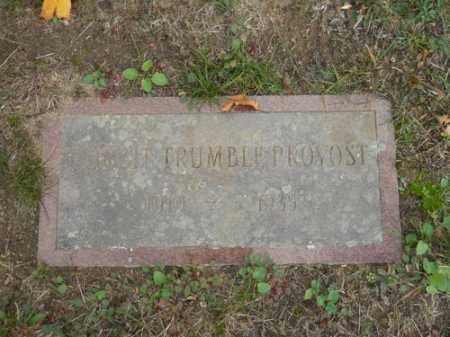 PROVOST, CORBIT TRUMBLE - Barnstable County, Massachusetts | CORBIT TRUMBLE PROVOST - Massachusetts Gravestone Photos