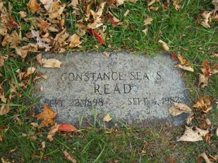 SEARS READ, CONTANCE - Barnstable County, Massachusetts | CONTANCE SEARS READ - Massachusetts Gravestone Photos