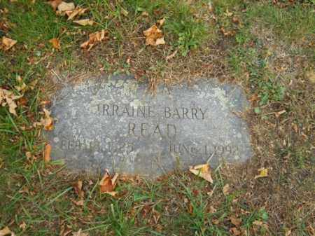 READ, IRRAINE BARRY - Barnstable County, Massachusetts | IRRAINE BARRY READ - Massachusetts Gravestone Photos
