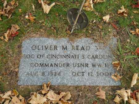 READ (WWI), OLIVER M 3RD - Barnstable County, Massachusetts | OLIVER M 3RD READ (WWI) - Massachusetts Gravestone Photos