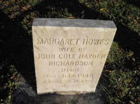 RICHARDSON, MARGARET HOWES - Barnstable County, Massachusetts   MARGARET HOWES RICHARDSON - Massachusetts Gravestone Photos