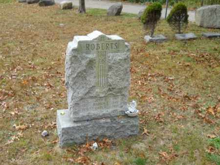 ROBERTS, JOHN D - Barnstable County, Massachusetts | JOHN D ROBERTS - Massachusetts Gravestone Photos
