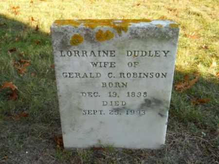 DUDLEY, LORRAINE - Barnstable County, Massachusetts | LORRAINE DUDLEY - Massachusetts Gravestone Photos