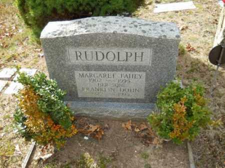RUDOLPH, MARGARET FAHEY - Barnstable County, Massachusetts | MARGARET FAHEY RUDOLPH - Massachusetts Gravestone Photos