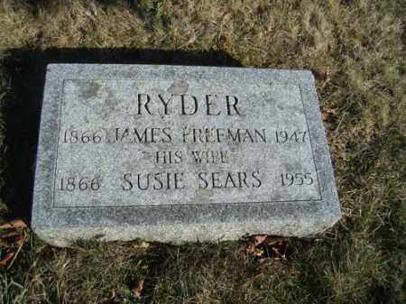 RYDER, JAMES FREEMAN - Barnstable County, Massachusetts | JAMES FREEMAN RYDER - Massachusetts Gravestone Photos